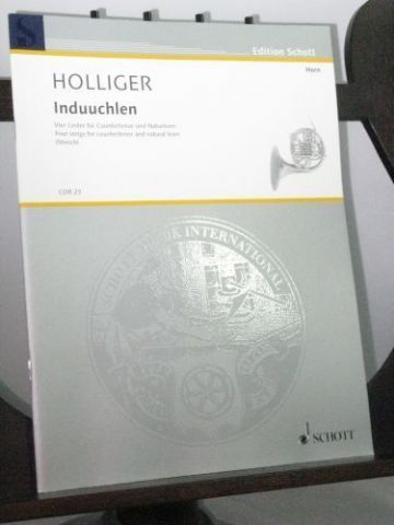 Holliger H - 4 Songs for Countertenor & Natural Horn